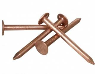 Smooth shank roofing nails easy to drive and economic for Roof nails dripping